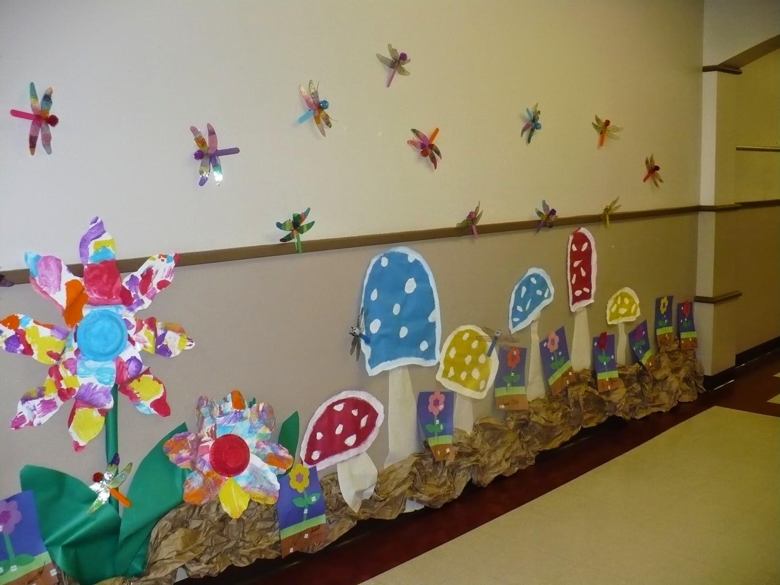 C c preschool factory hallway displays part 3 enchanted for Garden display ideas