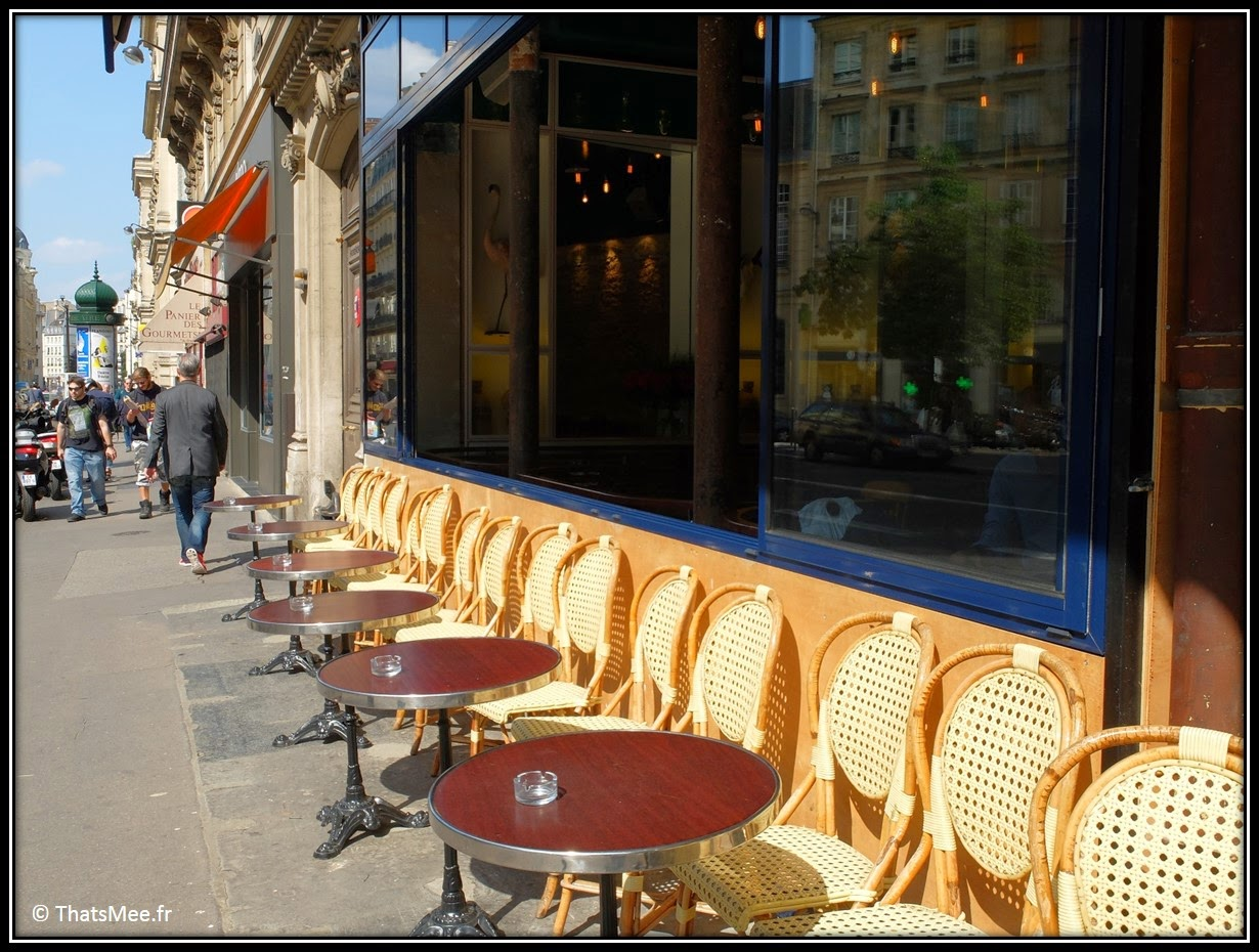 terrasse restaurant rotisserie Loup rue du Louvre Paris