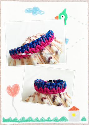How to make Two-colored Paracord Bracelet with 550 Paracord
