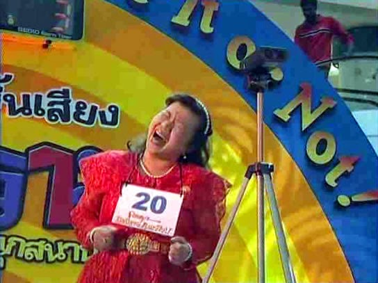 Laughing Competition - Thailand