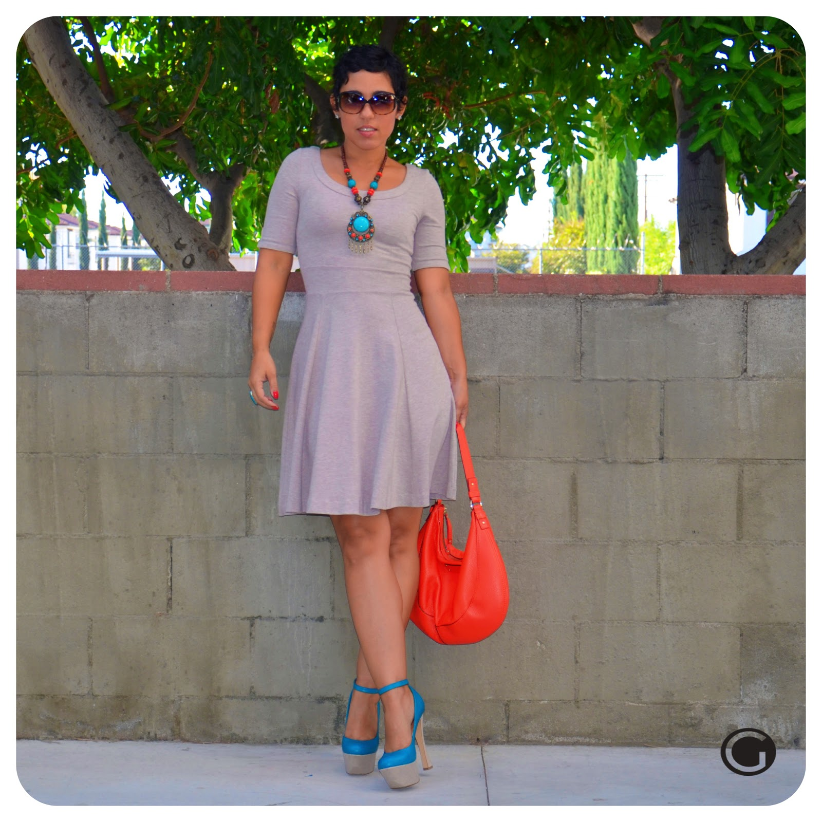 Feeling pretty ootd h amp m full skirt dress fashion lifestyle and diy