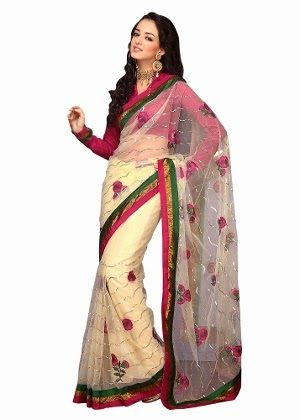 Buy party wear saree