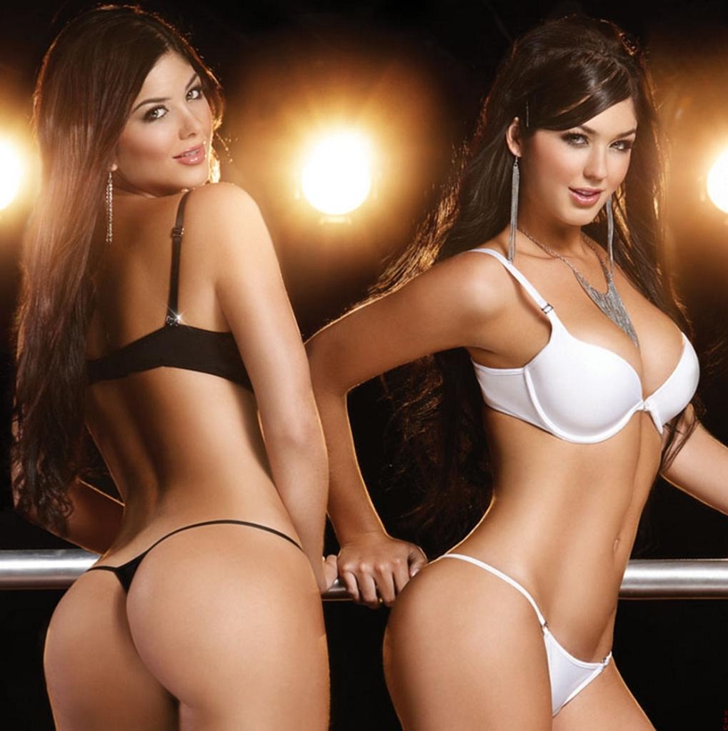 Mariana e Camila Davalo gêmeas lindas