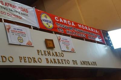 AMESE LUTANDO NA ALESE PELA DEFINIÇÃO DE UMA CARGA HORÁRIA PARA OS MILITARES SERGIPANOS