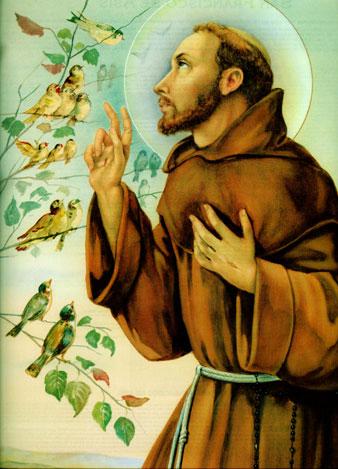Historia de San Francisco de Asis - santos-catolicos.com