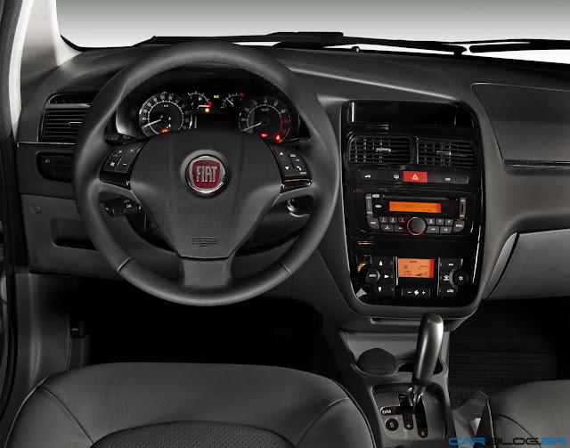 Fiat Linea 2013 - painel