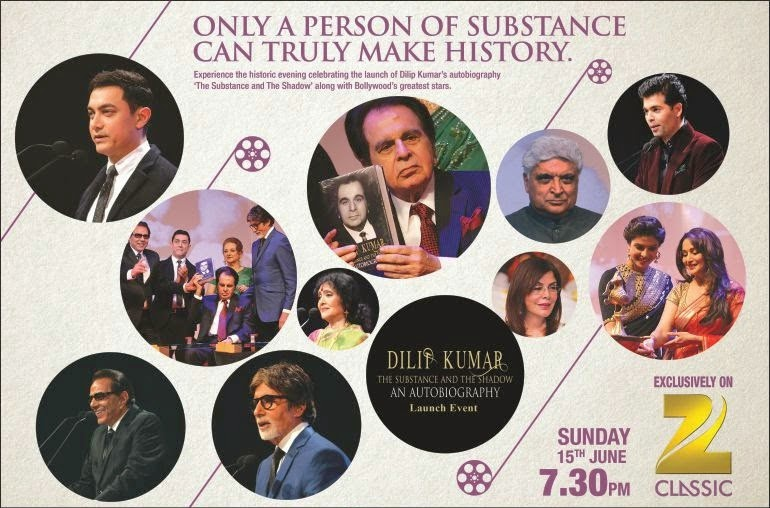 Dilip Kumar Sahab's Autobiography Launch Exclusively on Zee Classic