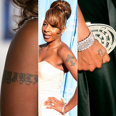 11 mary j blige tattoo removed beyonce haircut