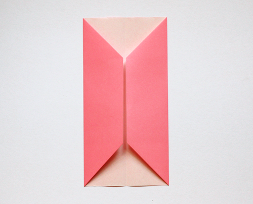 How to make an origami business card holder How About Orange