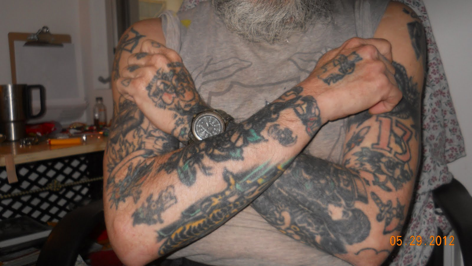 A Former Employee * Friend of Gregory May ,Tattoo Artist