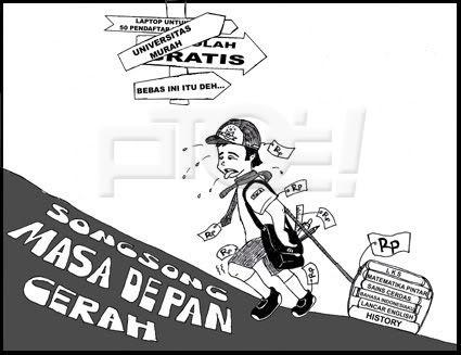 My Destiny: Karikatur Pendidikan