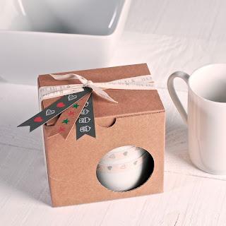 petite boîte pour cadeau pour tasses, selfpackaging, self packaging, selfpacking