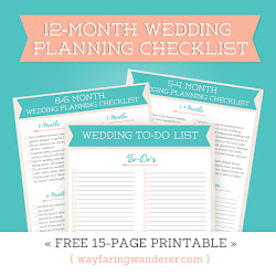 { FREE WEDDING CHECKLIST }
