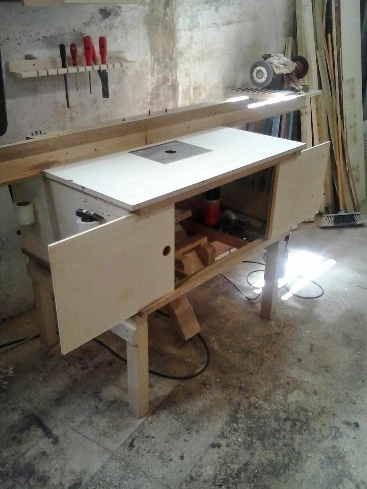 Artigianato fai da te made in italy legno metalli e for Banco fresa fai da te progetto