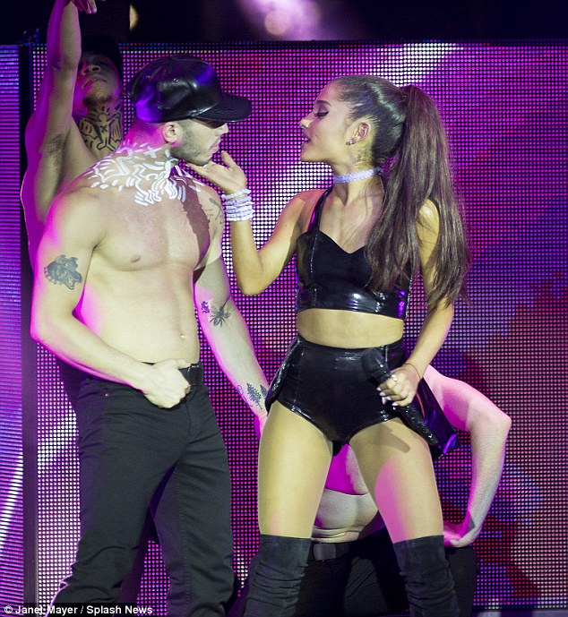 Ariana Grande and her new man, Ricky Alvarez