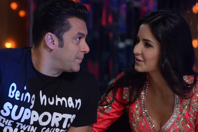 Salman Khan, Katrina Kaif on 'Jhalak Dikhhla Jaa 5'