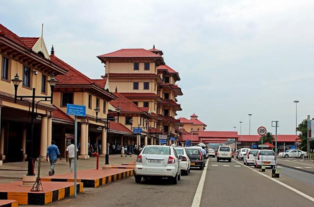 cochin airport building facade