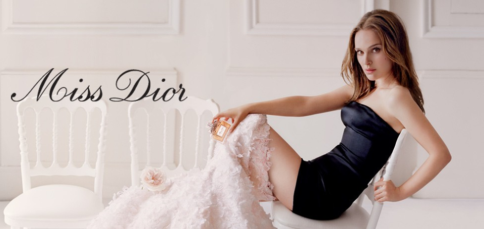 Natalie Portman Miss Dior Hot Photoshoot