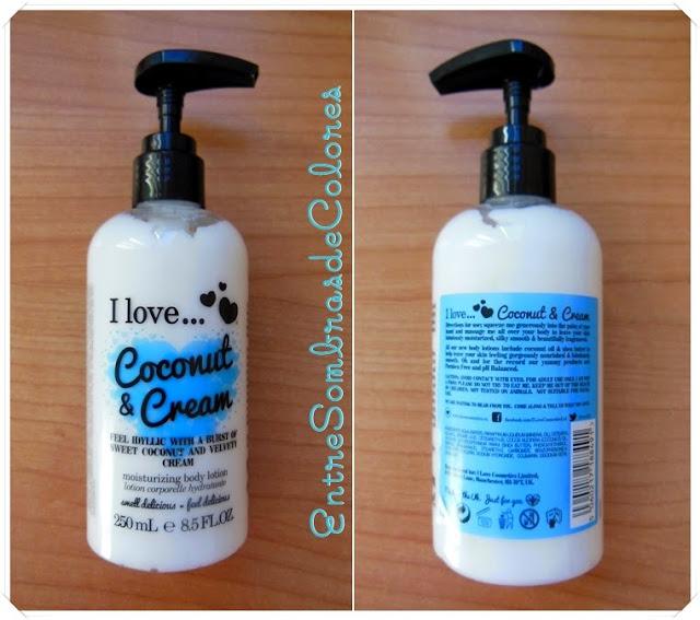 crema cuerpo coconut & cream I love...