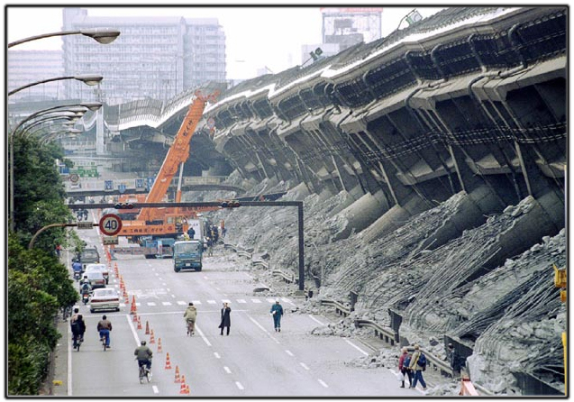 Kobe earthquake richter scale