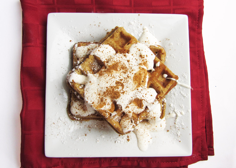 Gingerbread Waffles | Once Upon a Cutting Board