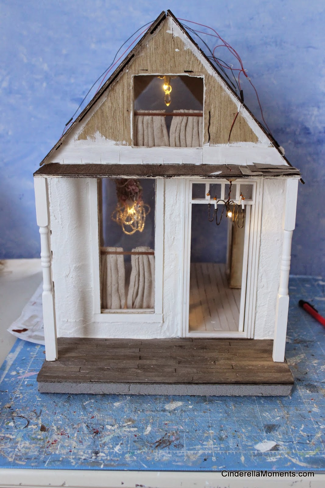 cinderella moments quintessential cottage dollhouse i m making a new cottage dollhouse called quintessential cottage