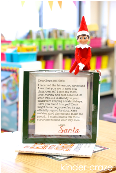 fun ideas for using a classroom elf