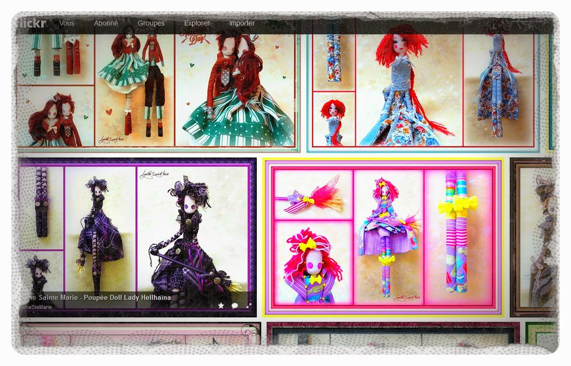 Agathe Sainte Marie Dolls, mon profil Flickr