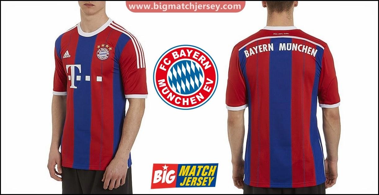 Jersey GO Adidas Bayern Munchen Home 2015