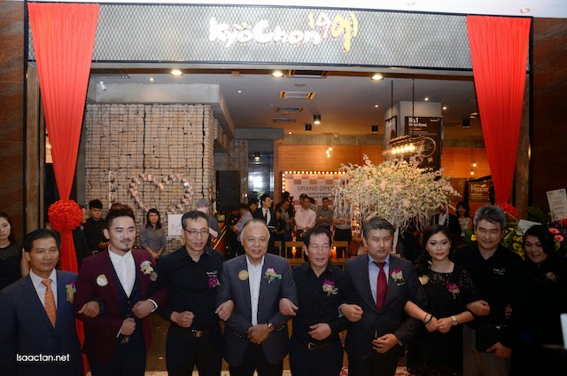 Congratulations on the grand opening of KyoChon Pavilion!