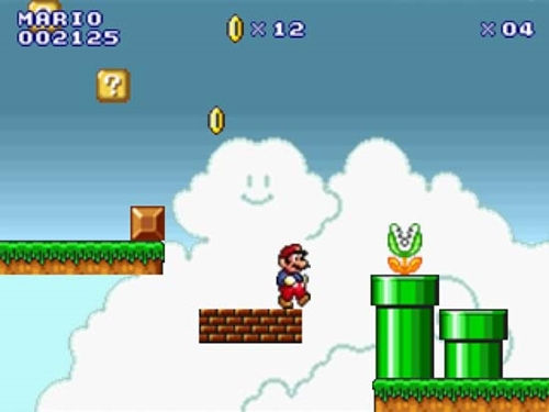 super mario world computer game