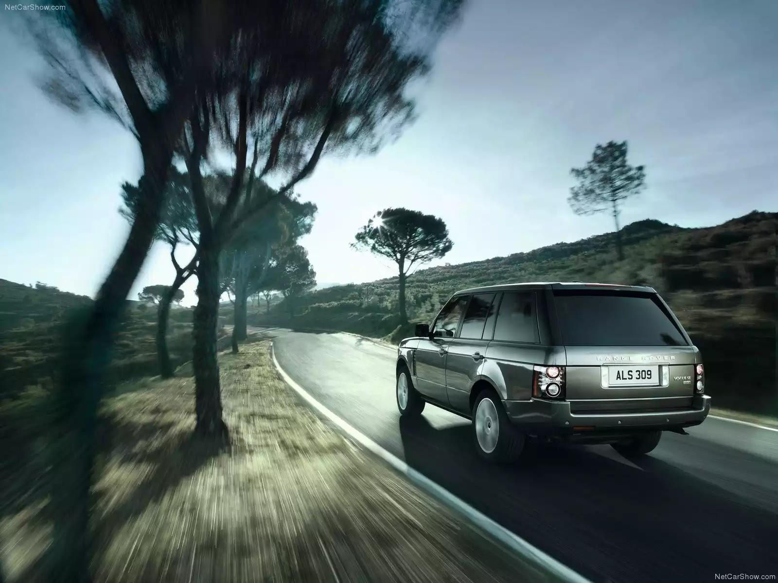 Hình ảnh xe ô tô Land Rover Range Rover 2012 & nội ngoại thất