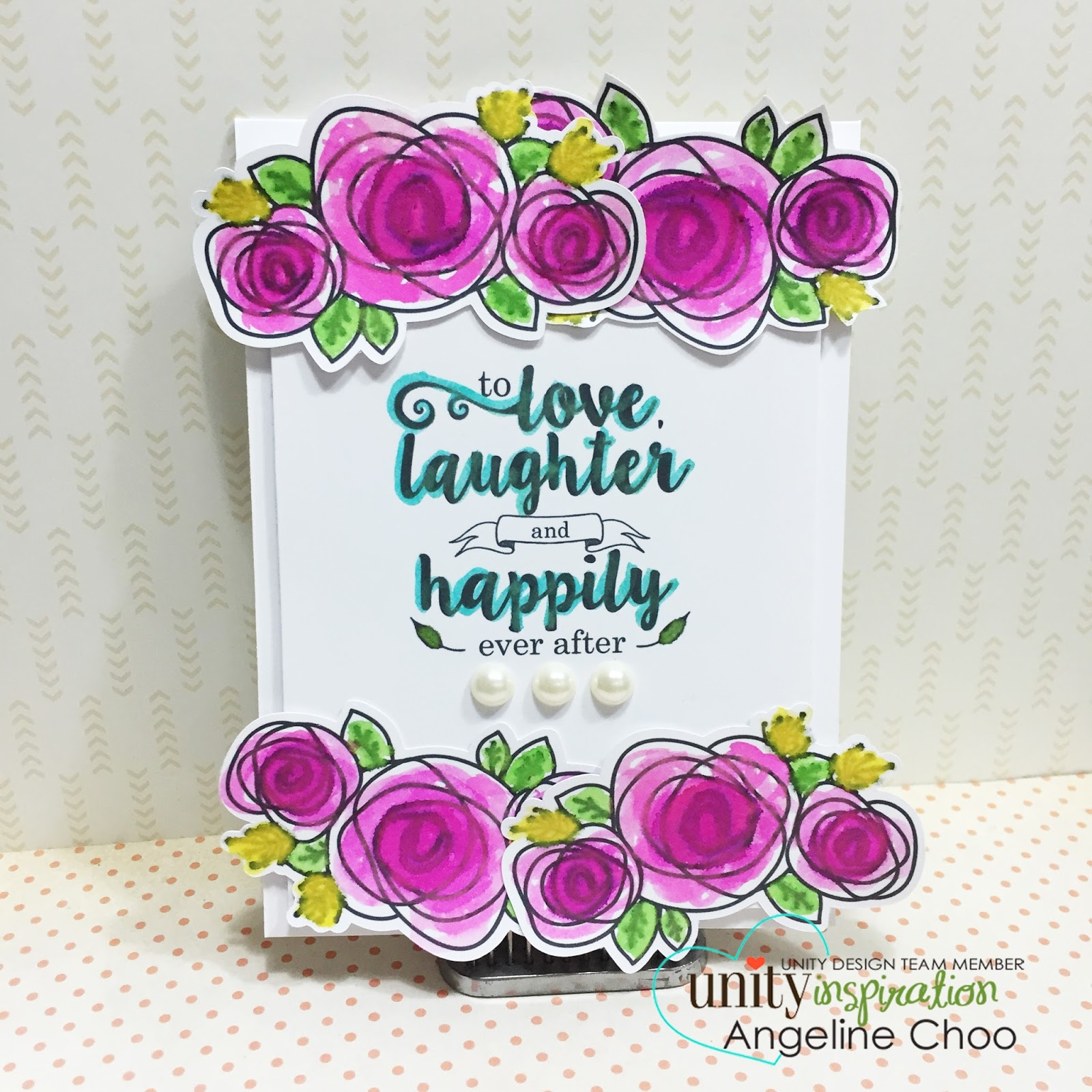 UnityStamp: Kit of the month monday - spread your wings #unitystampco #scrappyscrappy #card