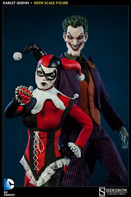 "Sideshow Collectibles DC COmics 1/6 Scale 12"" Harely Quinn Figure"