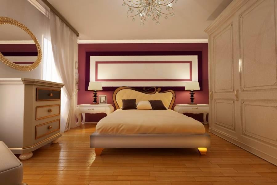 design interior dormitor clasic