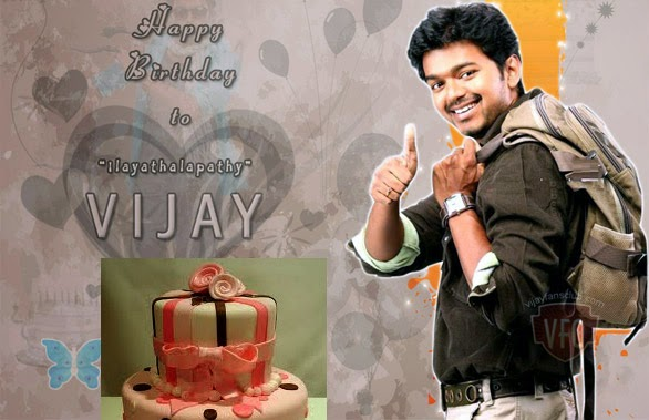 Birthday Cake Images With Name Vijay : Vijay Birthday Images Actor Vijay Birthday Wallpapers ...