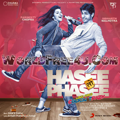 Poster Of Hindi Movie Hasee Toh Phasee (2014) Free Download Full New Hindi Movie Watch Online At worldfree4u.com