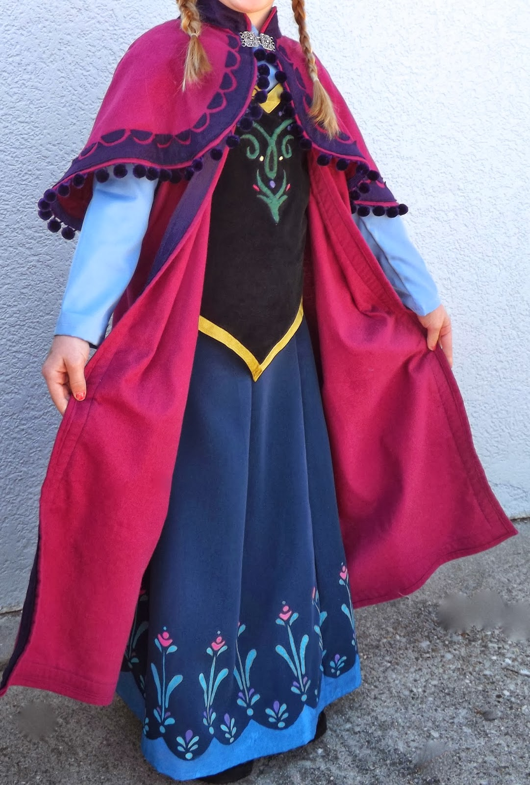 Disney Frozen Anna Costume Patterns
