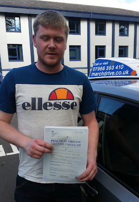 Craig Snaddon Test Pass