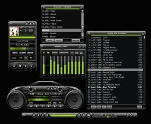 Blakk Skin for Winamp
