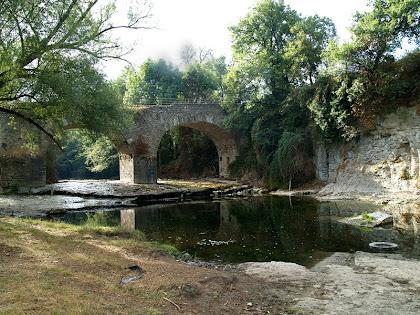 Arribant al Pont de Targarona