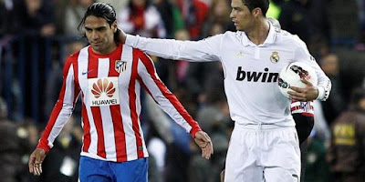 foto cristiano ronaldo vs radamel falcao 2012 2013 Kumpulan Foto Ronaldo vs Falcao (Real Madrid vs Atletico Madrid) Terbaru 2013