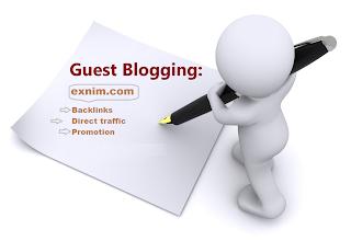 Guest blogger exnim.com untuk mendapatkan banyak pengunjung