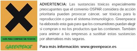 Xananatura txicos productos txicos en el hogar parte 2 gua para comprar productos sin txicos greenpeace urtaz Choice Image