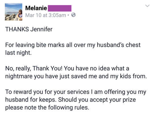 Angry Wife Writes Letter To Her Cheating Husband