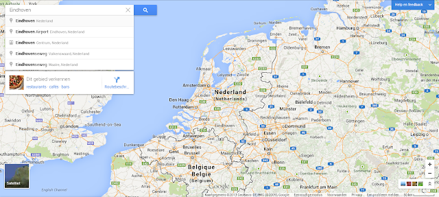 New Google Maps in the Netherlands