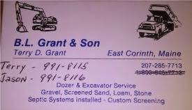 B.L. Grant & Son scoreboard