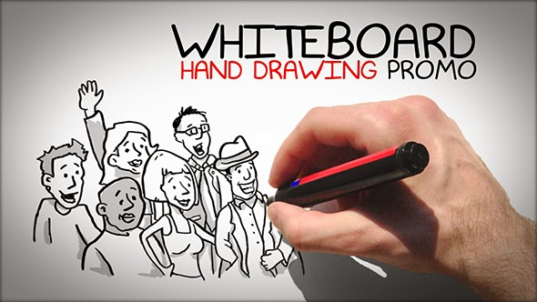 VideoHive Whiteboard Hand Drawing Promo