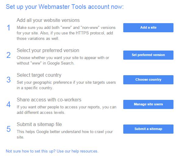 Langkah SEO Dasar Blog dari Google Webmaster 5 SEO Dasar Blog dari Google Webmaster