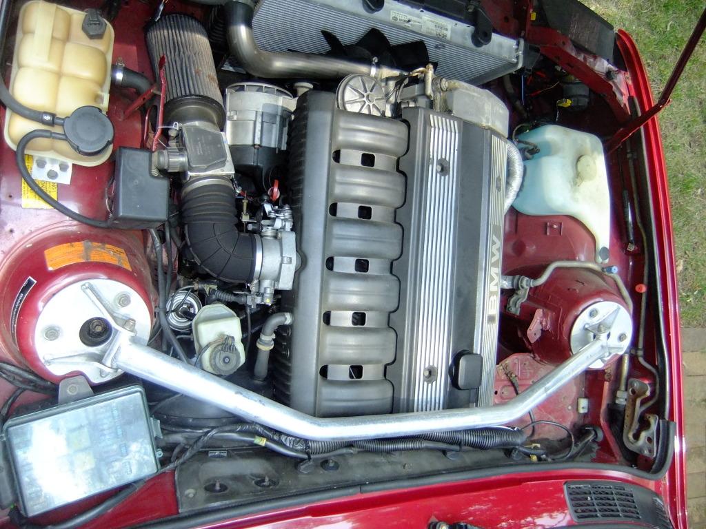 10k flash 1985 bmw 320i euro 4door mtech w m50 i6 swap